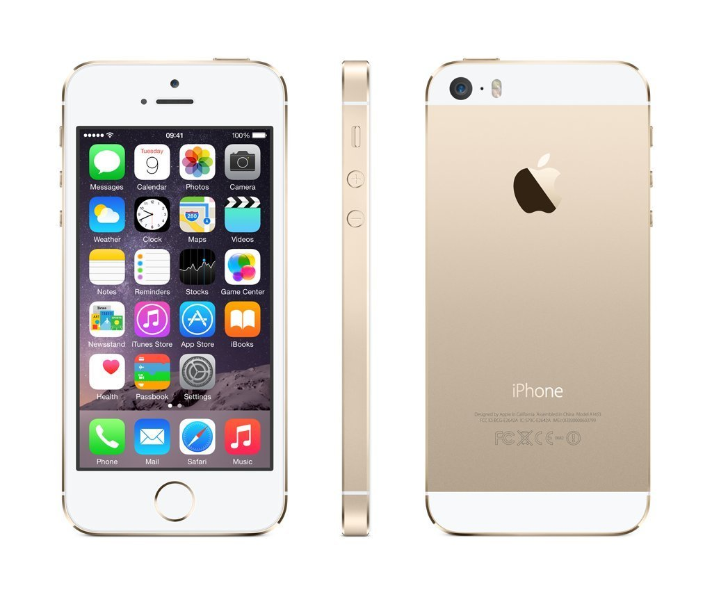 iphone 5s 16gb goud computer service webshop de online shop voor refurbished tweedehands. Black Bedroom Furniture Sets. Home Design Ideas